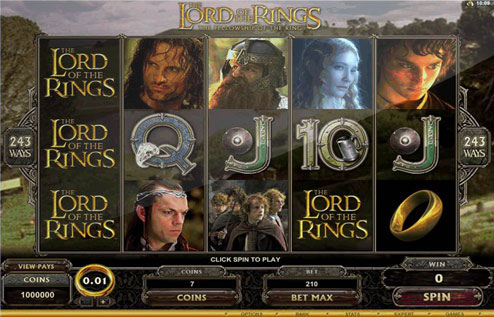The Lord of the Ring Slot